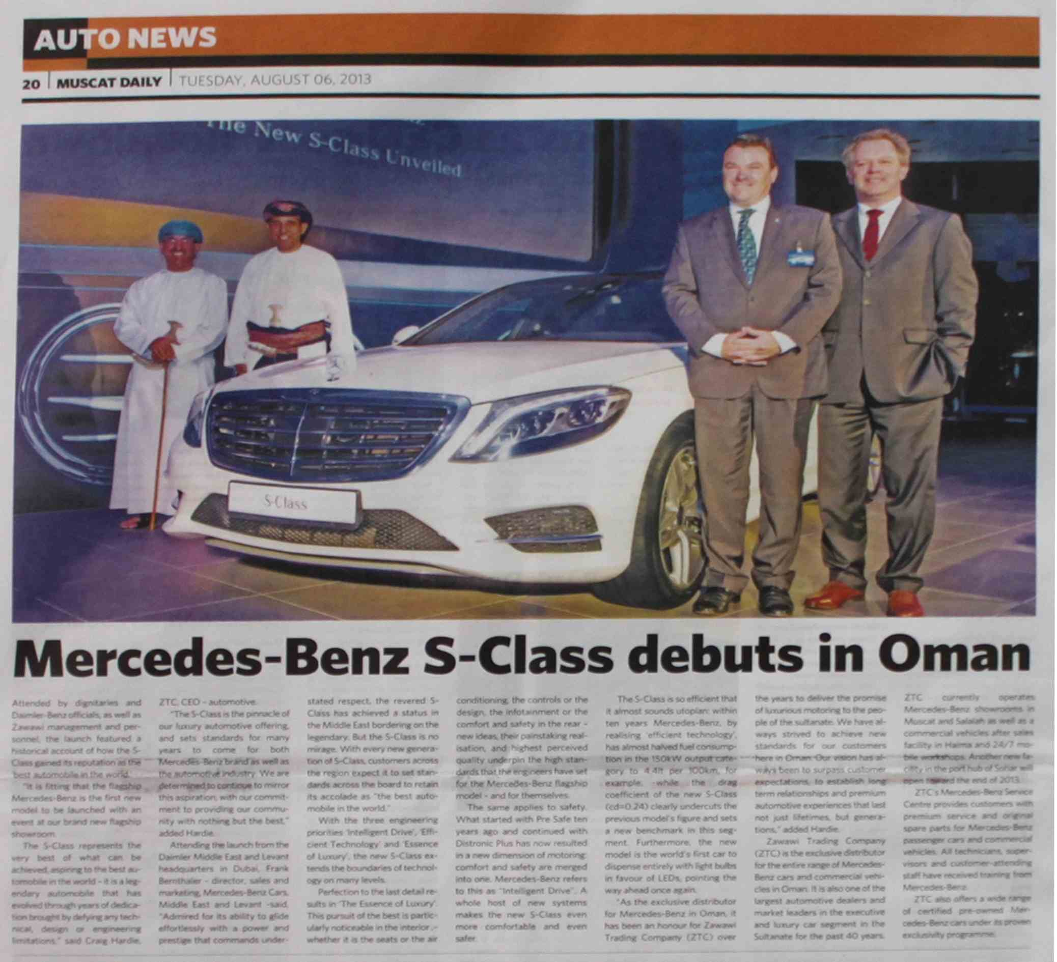 PRL in Muscat Daily, 6 Aug 131