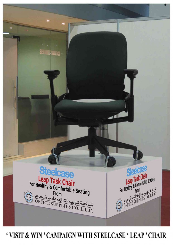 Visit & Win -Steelcase Leap Chair